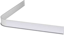 Leijma 8101 Duschsarg vinkel, vit 92x92 cm