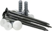 Gelia 3016004102 Skruvsats för montering av golv-WC