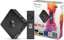 Ematic Android 4K TV box Chrom