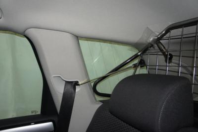 VW Touareg 2011- Hundgaller-Skyddsgaller