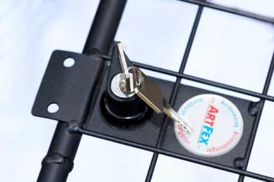 Artfex Lås till bur & grind inklusive 2st nycklar