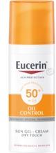 Eucerin Sun Gel-Cream Oil Control Spf-50+ Oparfymerad 50 ml