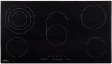 vidaXL keramisk kogeplade med 5 kogezoner touch-panel 77 cm 8500 W