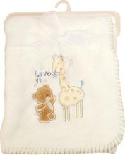 Gilbert Gilbert Filt Baby Giraff Offwhite
