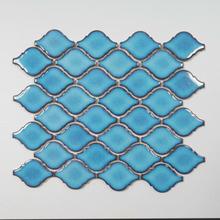 Mosaik Blue Lantern klinke 28,3x25,1 cm