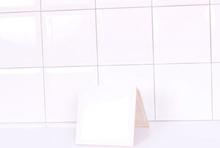 Metro Hvid Blank klinke 15x15 cm