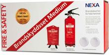 Nexa Brandskyddsset Röd Medium