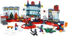 76175 Super Heroes Attacken mot spindeltillhållet