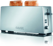 GRAEF Brødrister TO90 alu-silver, mat stål, 2 skiver. 3 stk. på lager
