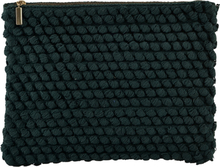 House Doctor Clutch Tofted Green Large