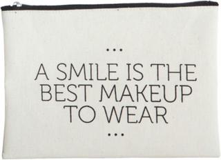 House Doctor Makeup Bag Smile