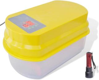 Vidaxl automatisk inkubator för 15 hönsägg