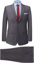 Vidaxl tvådelad kostym herrar grå strl. 56