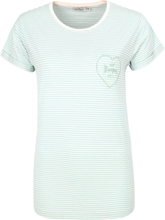 Urban Surface - Heartpocket -T-skjorte - turkis