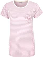 Urban Surface - Heartpocket -T-skjorte - Rose
