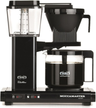 Moccamaster Kbg962ao Black Kaffetrakter - Svart
