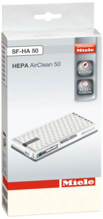 Miele HEPA SF HA 50 AirClean filter. 8 stk. på lager