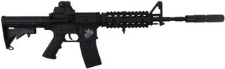 Swiss Arms Mini M4 Ris, Sort