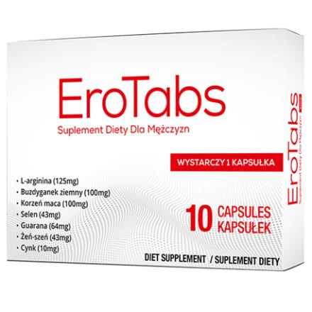 ERO Erektionshjälp Tab - 10 capsules