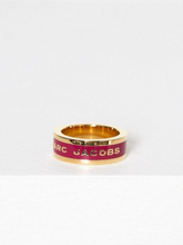 Marc Jacobs Band Ring Magenta