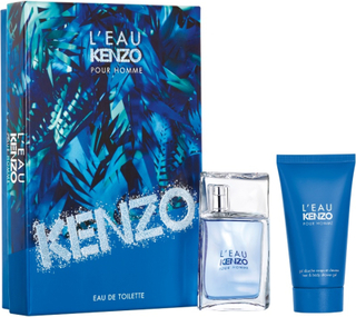Kenzo L'Eau Kenzo Pour Homme EDT + Hair & Body Gel Gift Set (Limited Edition)