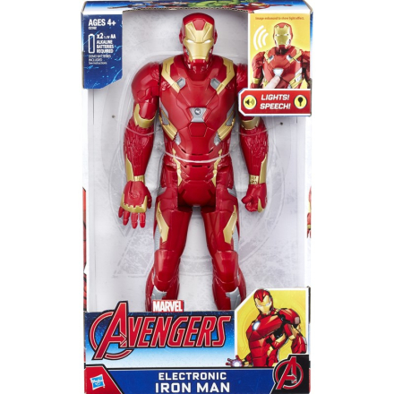 The AvengersTitan Hero, Electronic Iron Man