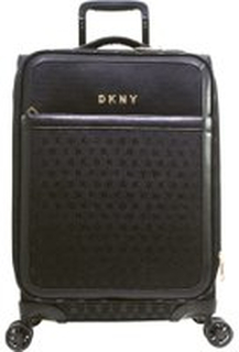 Svart Dkny Signature Carry-On Kabinkoffert