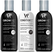 Watermans 2x Shampoo & 1x Conditioner Hair Growth Set (Typ av köp: En gång (ej prenumeration))