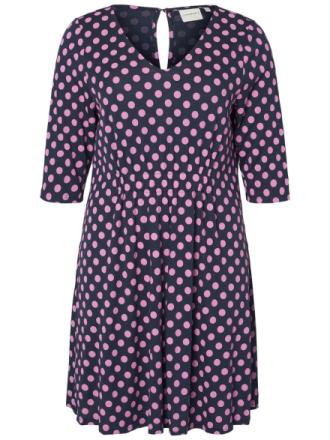 JUNAROSE Dotted Dress Women Blue