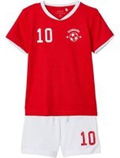 NAME IT Kortärmad Fotbollskläder Man Röd