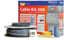 Ebeco Golvvärme Cable Kit 300 (260W) 23 m, 2.3 - 3.0 m²