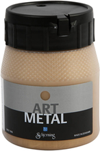 Art Metal maling, mellem guld, 250ml