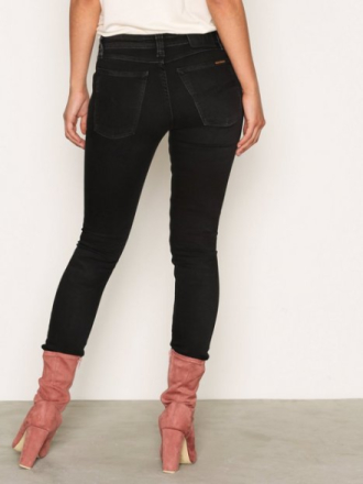 Skinny - Black Nudie Jeans Skinny Lin Black Habit