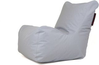 Pusku Pusku Seat OX - saccosäck fåtälj White grey