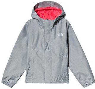 The North Face Silver Grey Resolve Reflective Jacket M (10-12 years)