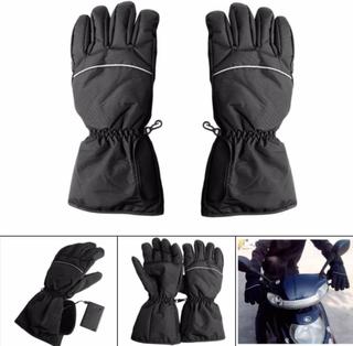 Handske med värmeslingor
