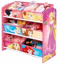 Disney Prinsesse Oppbevaringshylle med 6 skuffer