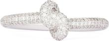 Engelbert Absolutely Slim Knot Ring Vitguld White diamonds