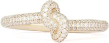 Engelbert Absolutely Slim Knot Ring Guld White Diamonds