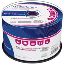 MediaRange CD-R 700MB/80min 52x printable (50)