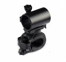 Jiguoor 25.5mm 360 Degree Adjustable LED Flashlight Bike Bicycle Mount Holders for Convoy C8 M1 M2 L4 LED Flashlight