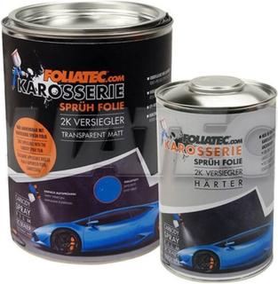 Flydende gummi til biler Foliatec Sealer Transparent Ultra Mate (2 L) & Sealer Hardener (1 L)