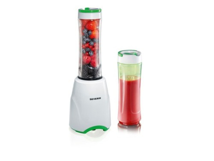 Severin SM3735 - Smoothie blender m.2 be. 600ml. 2 stk. på lager