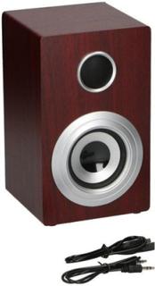 Soundlogic Retro Wireless Speaker - Bluetooth + Aux Brown / Wood