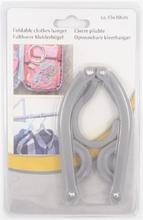 Foldable clothes hanger 45x10cm