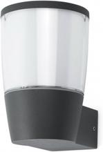 Roy væglampe H16,1 cm 1 x E27 - Mørkegrå