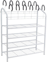 Shoe rack - 27x70x88cm for 18 pairs of shoes
