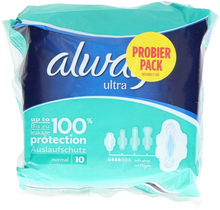 Always Sanitary Napkin - Ultra Normal 10 pieces