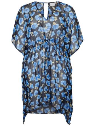 JUNAROSE Beach Dress Women Blue