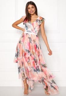 Y.A.S Pallida S/S Dress Star White / Multi M